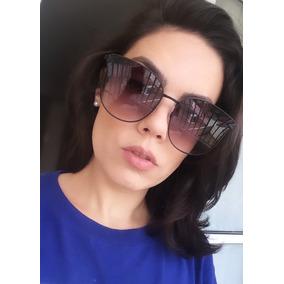2b8ab9859f646 Óculos De Sol Feminino Gatinho Espelhado Grande - Barato. 4 cores. R  39 90