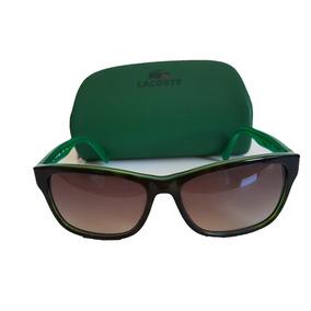 49991f9f58bc1 Óculos Lacoste Branco   Verde - Óculos no Mercado Livre Brasil