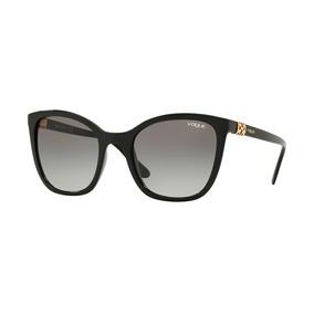 7133386918a55 Óculos Solar Vogue Vo5243sb W44 11 Preto Brilho Vo 5243 Sb