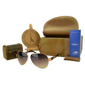 7e63608049340 Oculo Mykita Dourado De Sol Gucci - Óculos no Mercado Livre Brasil