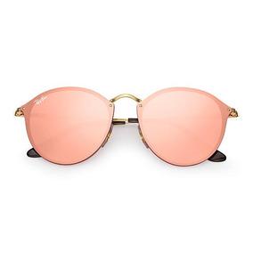 960390839 A Potranca Cor De Ouro Oculos Ray Ban Round Sol - Óculos no Mercado ...