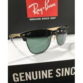 a4c719a22fcbe Ray Ban Clubmaster Alumínio 3507 Prata Com Prata Original. Minas Gerais ·  Óculos De Sol Blaze Clubmaster Rb3576 Lançamento