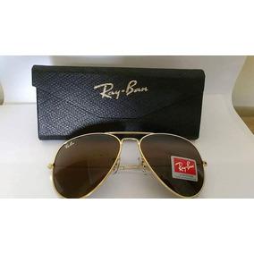 81c1e4c489ec1 Ray Ban Aviador Ouro - Óculos no Mercado Livre Brasil