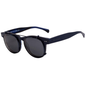 aacf2fc63e28a Evoke Clip On Classic - Óculos De Grau Matte Blue  Gray Pola