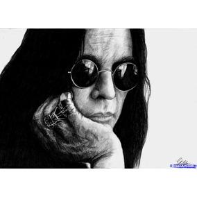 437c258a3 Oculos John Lennon Ozzy Osbourne Vermelho - Óculos no Mercado Livre ...