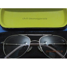 030e36eafd5b6 Oculos Redondo Duplo De Sol Chilli Beans Grau - Óculos no Mercado ...