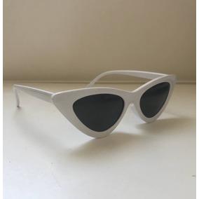 bf93fe457c884 Óculos De Sol De Gatinho - Triangular - Fashion - Hipster