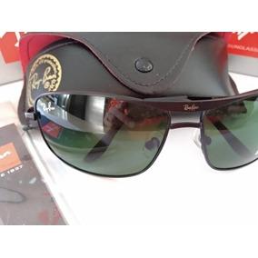 3b28d53893d5c Óculos De Sol 8013 Preto Lete Verde Ray Ban - Óculos no Mercado ...