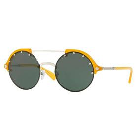 b34565f450cb7 Oculos Gianni Versace Medusa Gold Sol - Óculos De Sol no Mercado ...