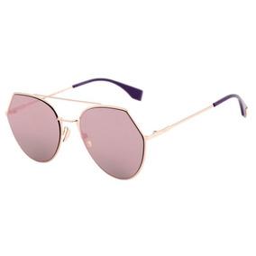 94ddf30b71aa7 Oculos De Sol Da Larissa Manuela Fendi - Óculos no Mercado Livre Brasil