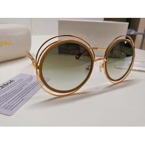 2ed18c4733507 Oculos Chloe Carlina De Sol - Óculos no Mercado Livre Brasil