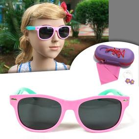 2767c5aba3304 Óculos Sol Polarizado Flexivel Infantil Criança Menina S826p