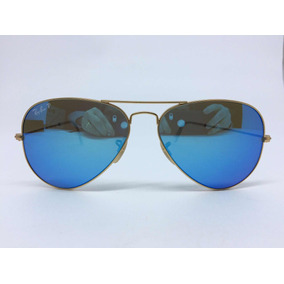 7bcb22297d917 Oculos Rayban Aviador Azul 58 14 De Sol Ray Ban - Óculos no Mercado ...