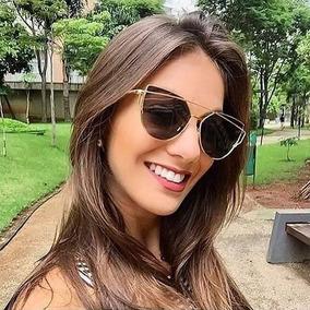 7f39337cd42c2 Oculos De Sol Gatinho Espelhado Barato - Óculos De Sol no Mercado ...