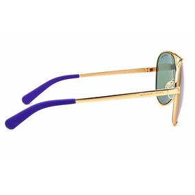 2a9fb7cf15040 Oculos De Sol Michael Kors Mk5125 Lente Azul - Óculos no Mercado ...