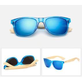 f3a65e2ad0bc1 Óculos De Sol Bamboo - Hastes Em Bambu - Cores Diversas
