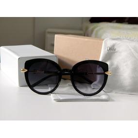 fc93b79082bec Oculos Lente Redonda Gatinho De Sol Dior - Óculos no Mercado Livre ...