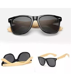 6e62cc37b54a3 Óculos Madeira bambu Polarizado Uv400 + Case + Flanela.
