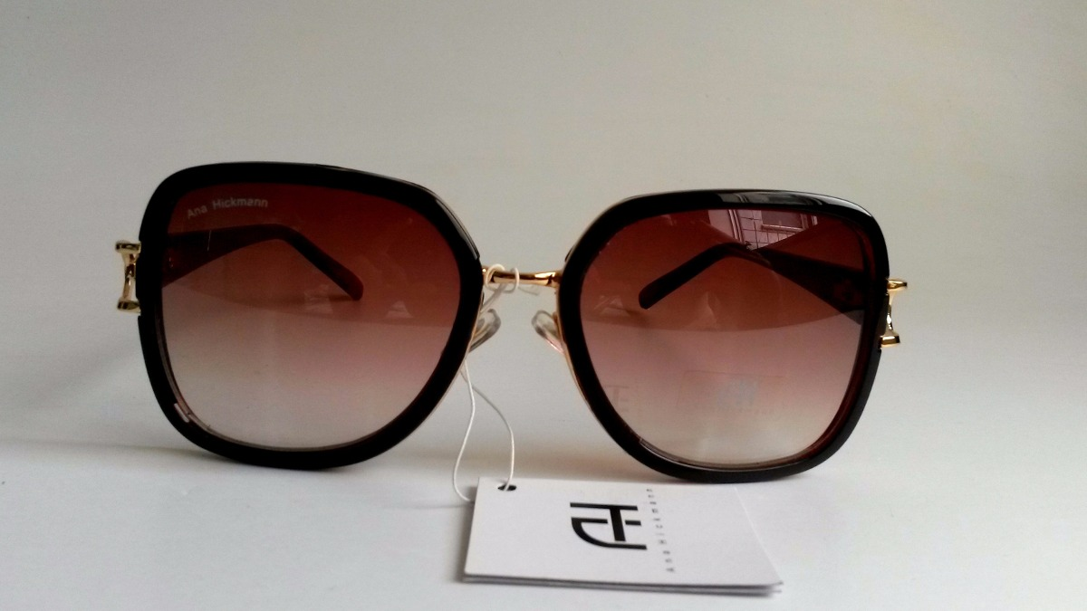 c248416eaa922 Óculos De Sol Feminino Ana Hickmann - R  129