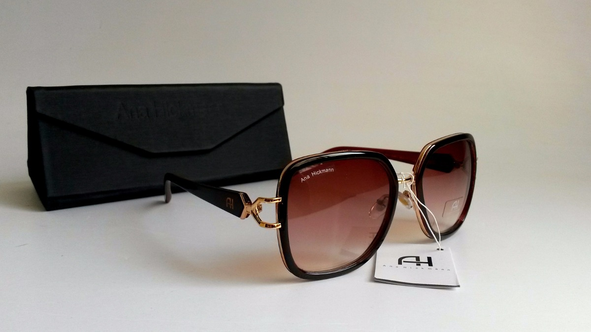 81a3ef2771924 Óculos De Sol Feminino Ana Hickmann - R  129
