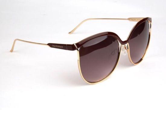 9b7615ce809a8 Oculos Sol Ana Hickmann Ah3164 07a Vinho Marrom Degradê - R  319