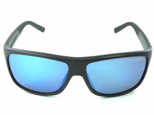 2bb96cd504db2 Óculos De Sol Masculino Emporio Armani Azul Proteção Uv400 - R  49 ...