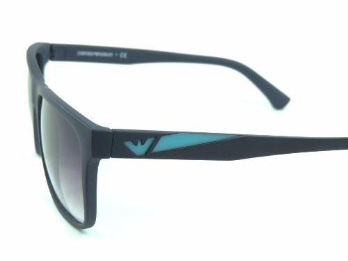 114cccb4fe2d6 Óculos De Sol Masculino Armani Preto Com Azul Barato - R  49,99 em ...