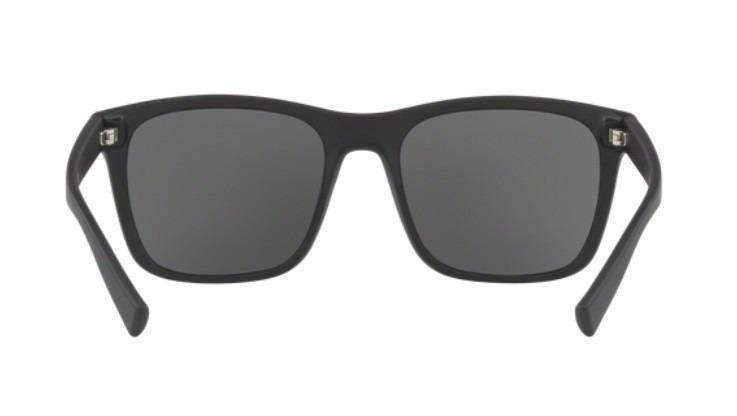 Oculos Sol Armani Exchange Ax4063sl 818287 Preto Fosco Cinza - R ... 62c7c98722