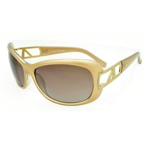 Óculos Sol Atitude 5061 Amarelo Ouro - Ref 465 - R  99,00 em Mercado ... 0c5a10d0e6