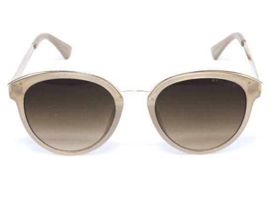 d9565e3f5 Oculos Sol Atitude At5348 T01 Nude Lente Marrom Degradê - R$ 139,00 ...