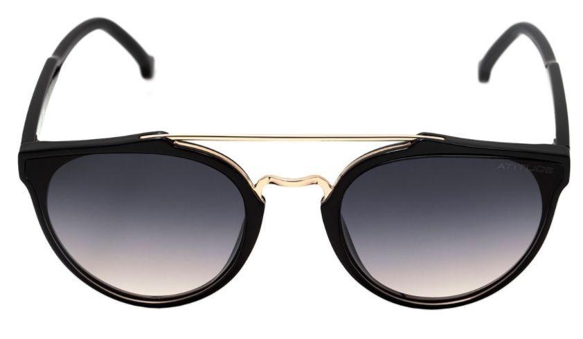 oculos sol atitude at5349 a01 preto lente cinza degradê. Carregando zoom. d79150dcf8