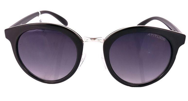 Oculos Sol Atitude At5352 A01 Preto Bril Lente Cinza Degradê - R ... fef6c92011