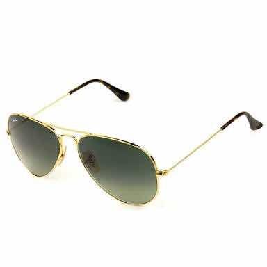 Óculos Sol Aviador Degrade Feminino Masculino Preto Dourado - R  39 ... f38cf971ea