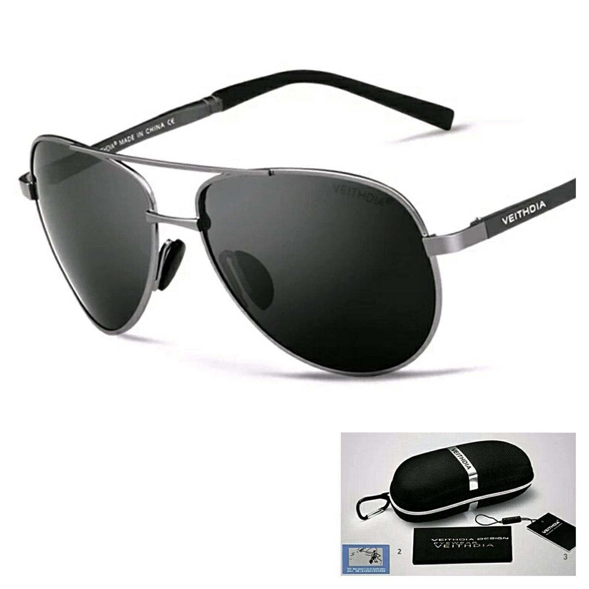 076e1bca4 óculos sol aviador masculino feminino polarizado uv400. Carregando zoom.