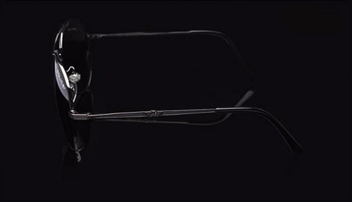 ac1e3160a785d óculos sol aviador police polarizado 100% proteção video. Carregando zoom.