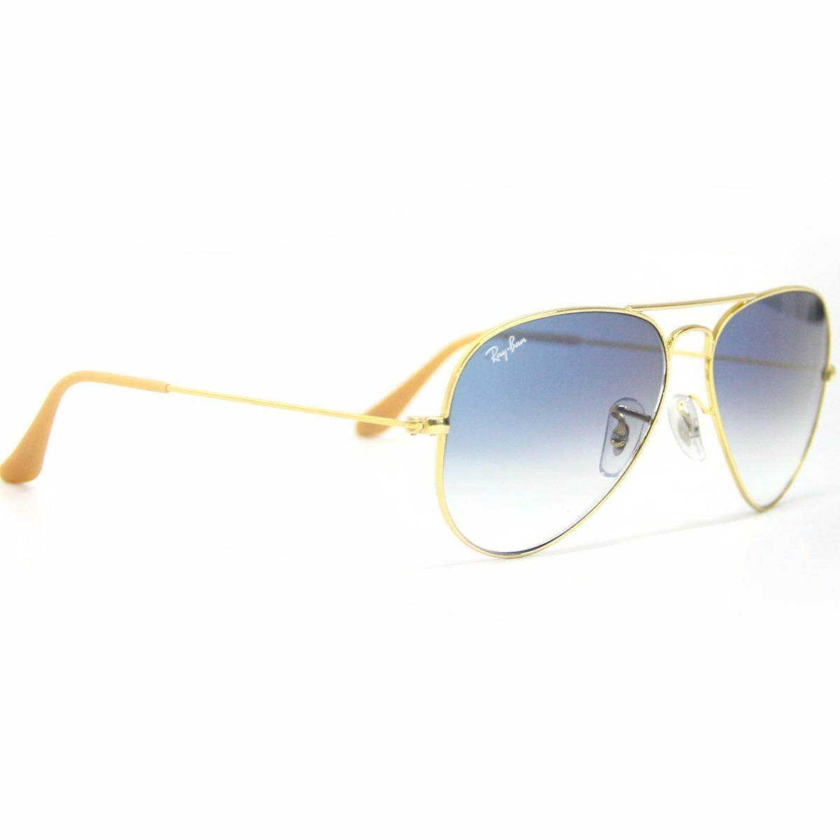 34b348153a0e1 óculos sol aviador ray ban 3025 - t.58 (médio) original. Carregando zoom.
