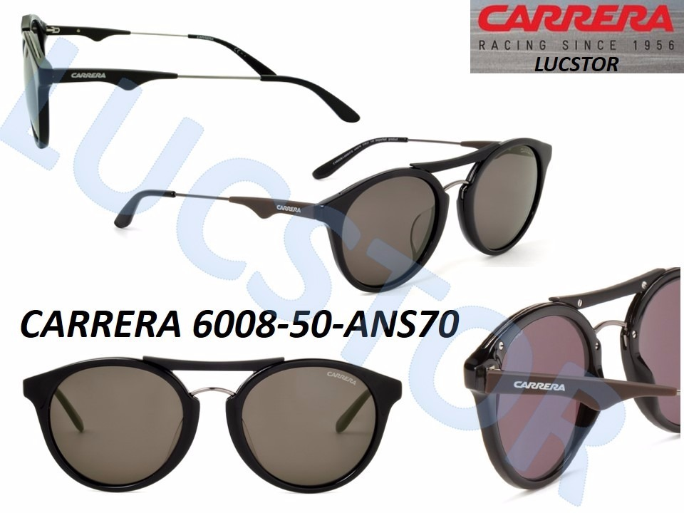 Oculos De Sol Carrera 6008 Ans70 50 Preto - Nf - R  539,99 em ... 3f65fd0e37