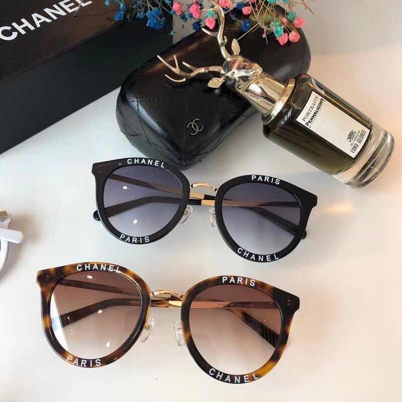 Óculos De Sol Chanel Redondo Ch 3652 Feminino Com Case - R  439,00 ... 6b108694c3