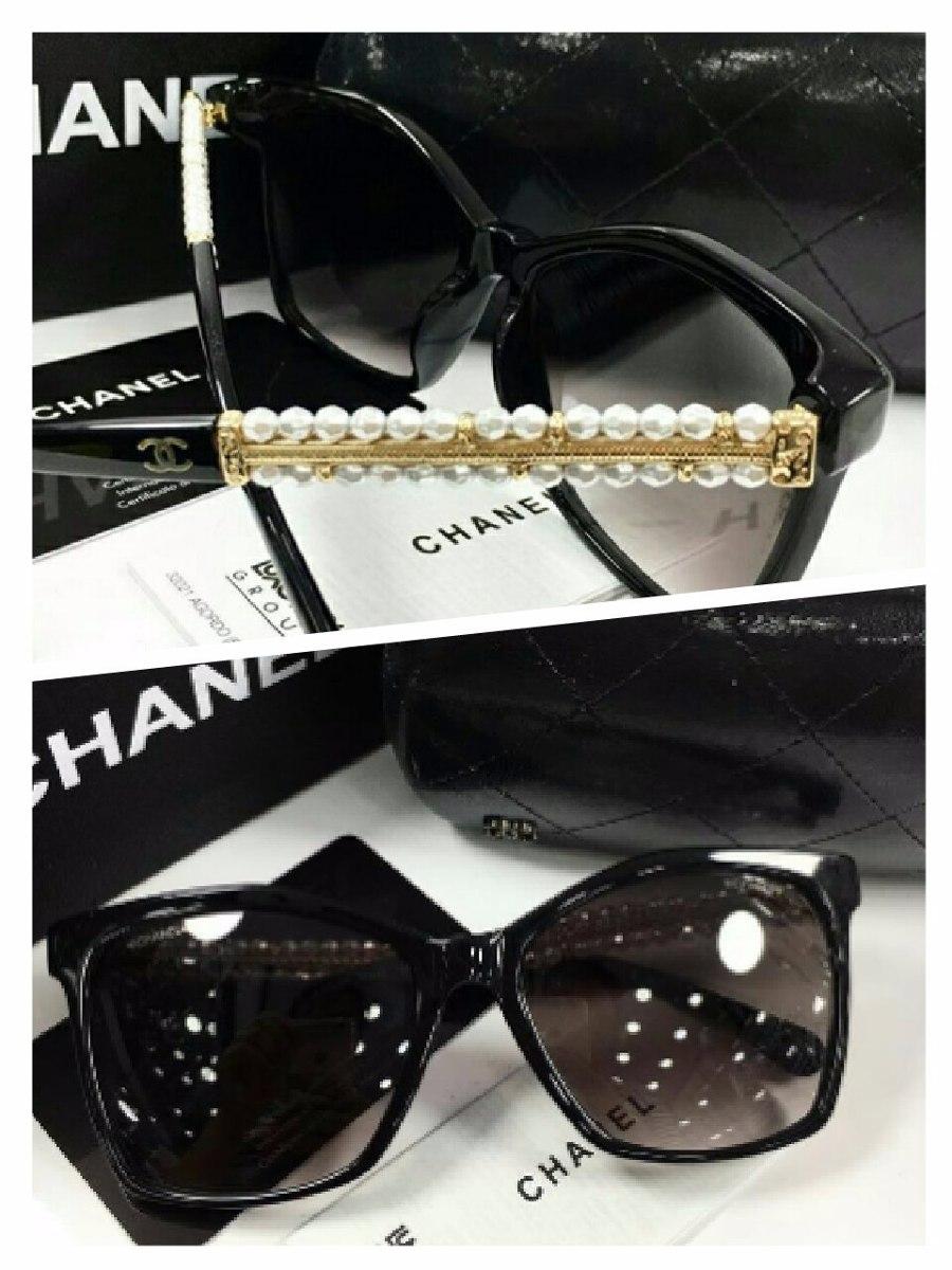 Oculos De Sol Chanel Com Perolas Pronta Entrega - R  690,00 em ... c813b8b12e