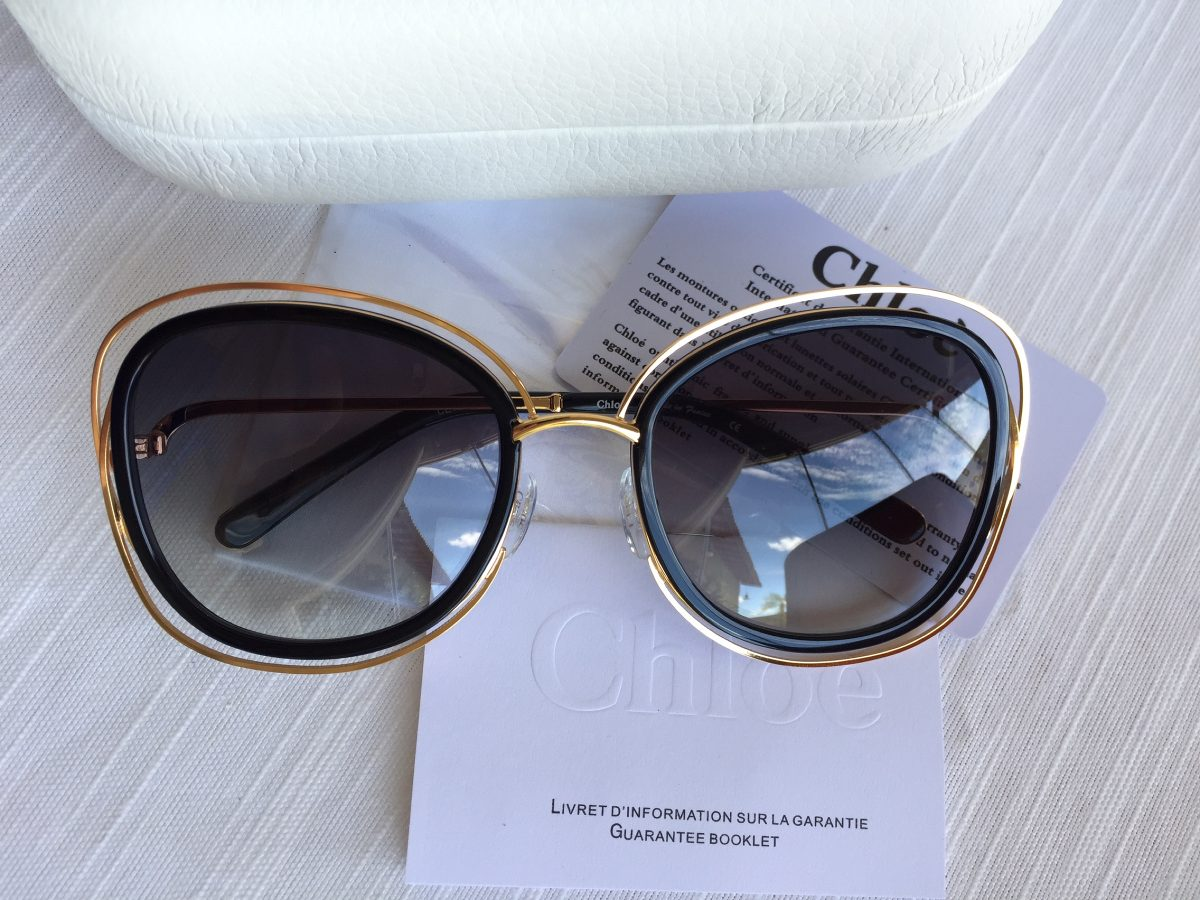 d329769de510c Óculos De Sol Chloé Carlina Ce123 s. Original. - R  850
