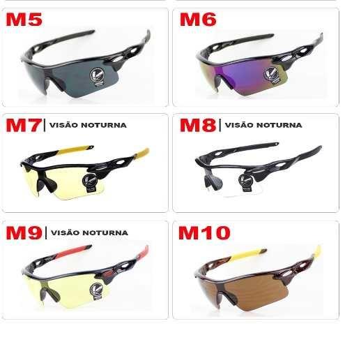 563be61381af6 Oculos Sol Ciclista Ciclismo Spider Dirigir A Noite Pedalar - R  40 ...