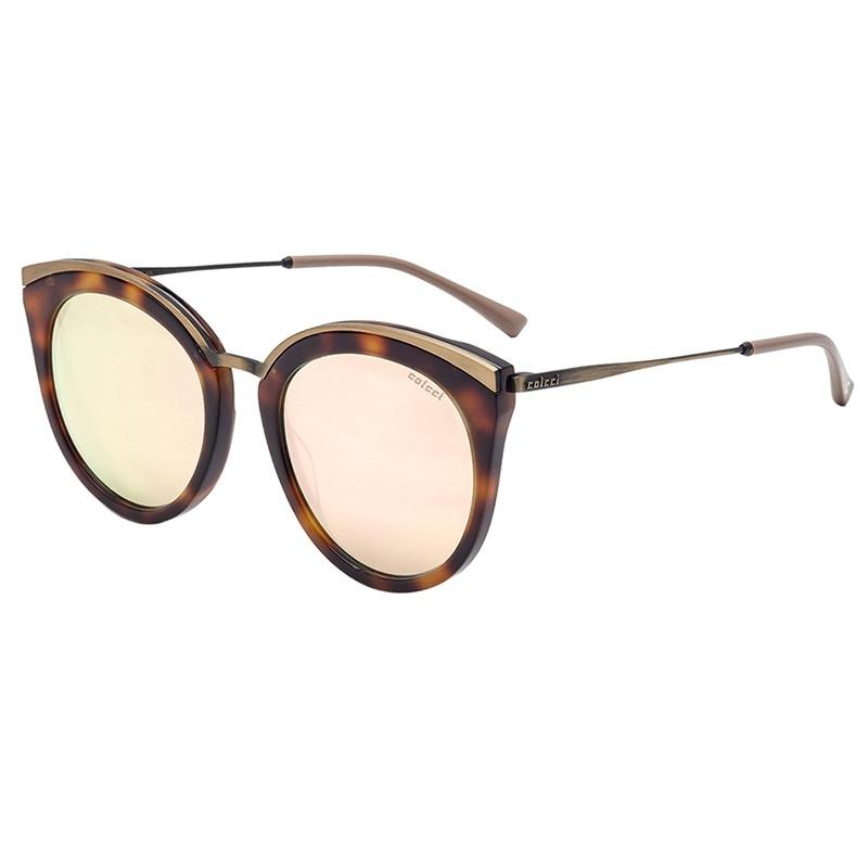 23cadb7f22410 Características. Marca Colcci  Modelo 3016 Clubmaster  Tipo de lente Rosa  com espelhado dourado ...