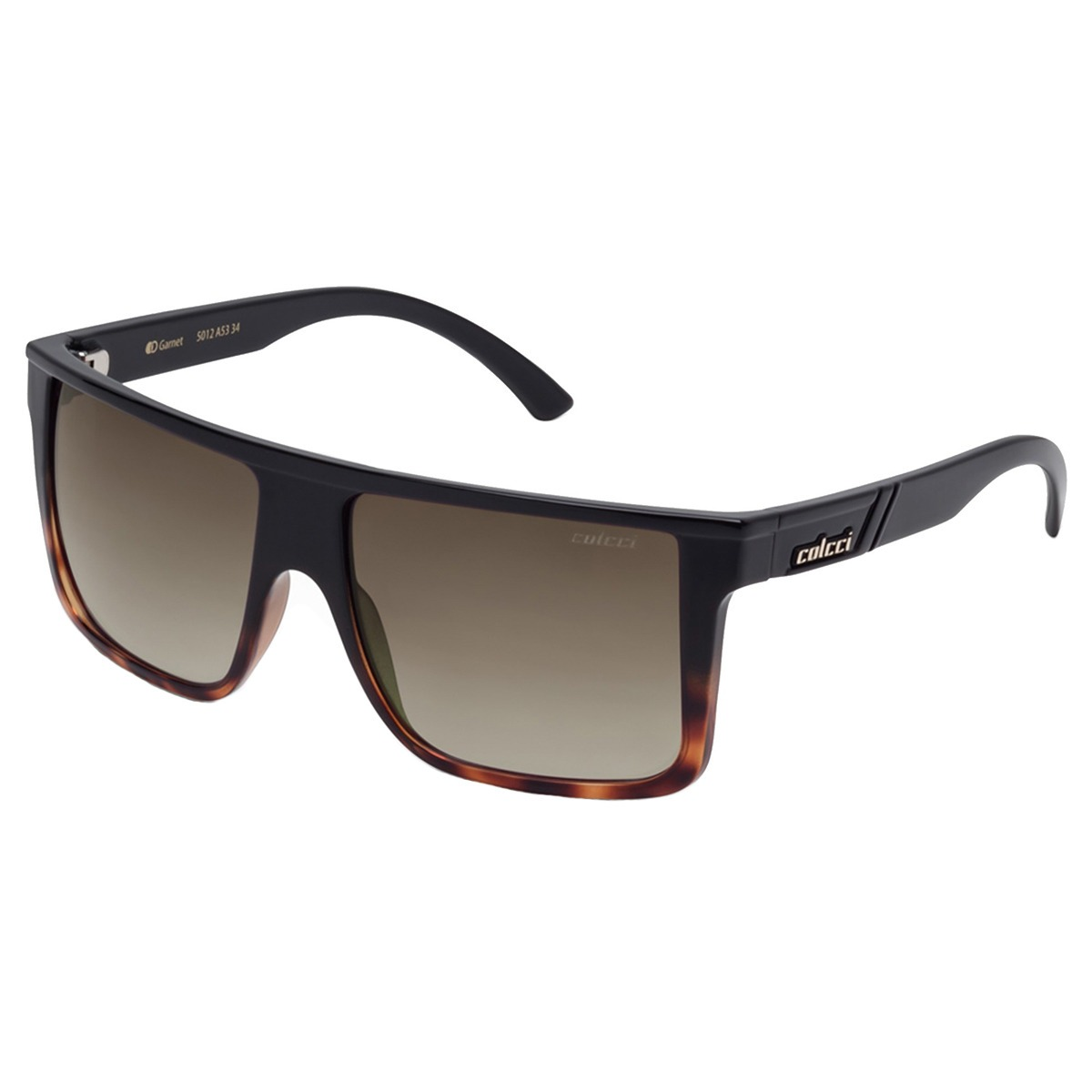 Oculos Sol Colcci Garnet Preto Brilho Marrom Demi Original - R  289 ... 0ae238dfc0
