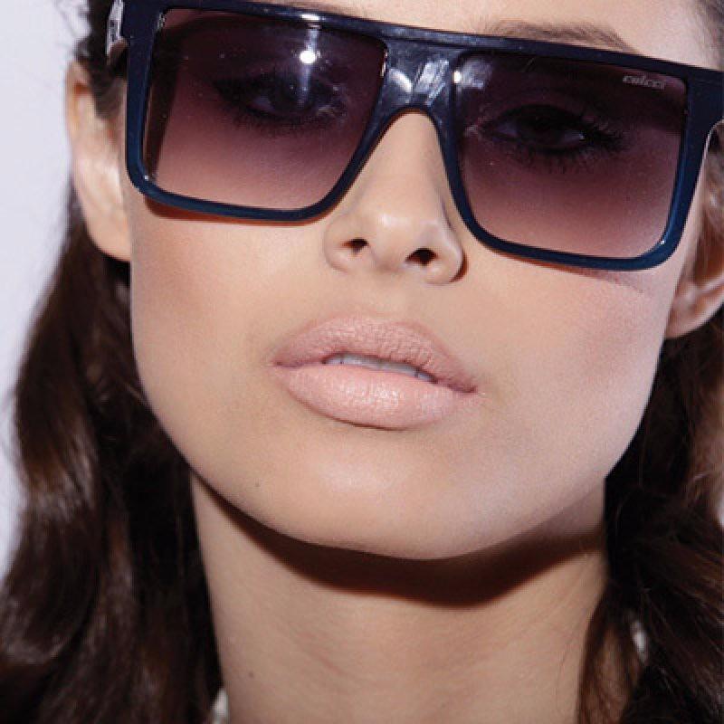 2baa8c6de3df0 Óculos Sol Solar Colcci Garnet Demi Azul Flash Espelhado - R  289,00 ...
