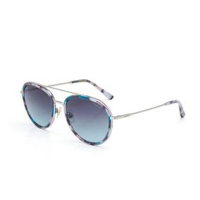 f0c1397d2 Óculos De Sol Fórum Feminino Marrom Demi Com Azul - Óculos no ...