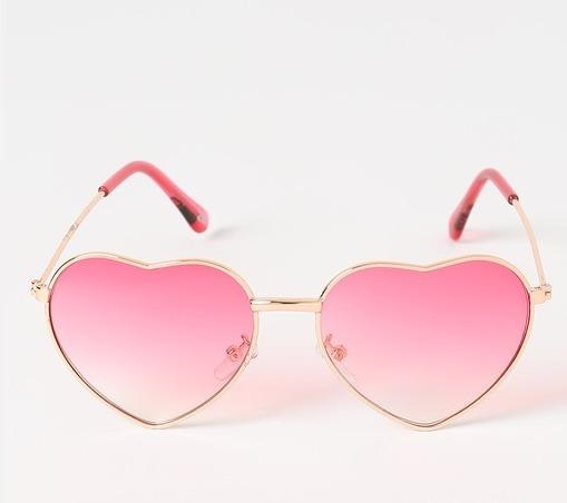 d6e3b8873d3a1 Óculos Sol Coração Infantil Menina Crianças Uv400 - R  29,90 em ...