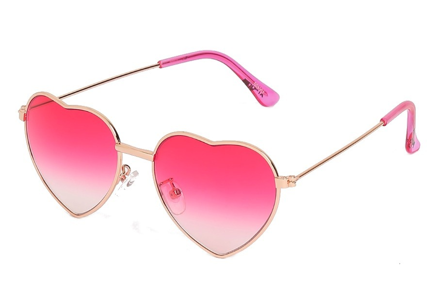 óculos sol coração infantil meninas crianças moda uv400. Carregando zoom. 5c2b011517