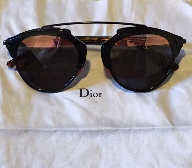 Oculos De Sol Dior So Real Preto E Rosa Novo...!!! - R  1.800,00 em ... 383ae980ee