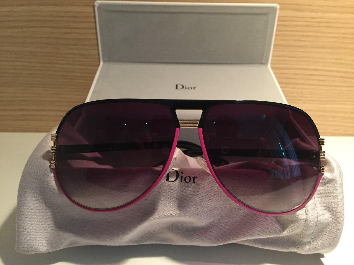 Óculos De Sol Feminino Dior - Original E Novo !!! - R  440,00 em ... e23f80595b