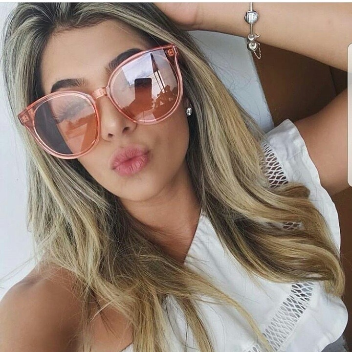 729415835a869 Óculos De Sol Dior Rosé Transparente - R  439,00 em Mercado Livre
